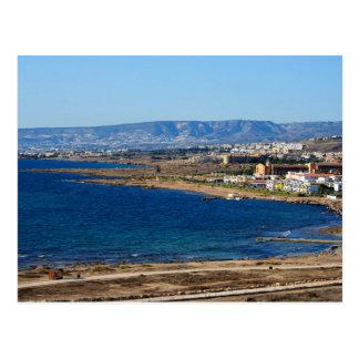 Cyprus Coastline Postcard