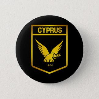 Cyprus Emblem 2 Inch Round Button