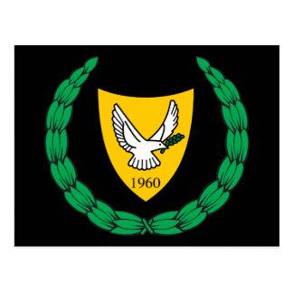 cyprus emblem postcard