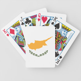 Cyprus Flag Bicycle Playing Cards