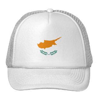 Cyprus Flag CY Trucker Hat