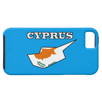Cyprus Flag in Map Case For The iPhone 5