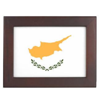 Cyprus Flag Keepsake Boxes