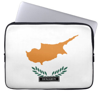 Cyprus Flag Laptop Sleeves