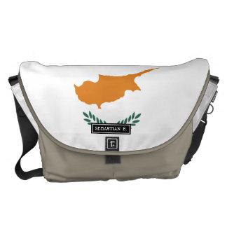 Cyprus Flag Messenger Bag