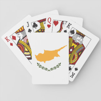 Cyprus Flag Playing Cards