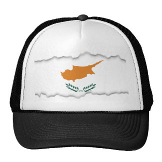 Cyprus Flag Trucker Hat
