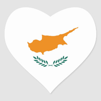 CYPRUS HEART STICKER