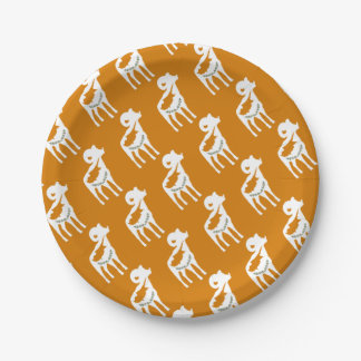 CYPRUS NATIONAL RAM 7 INCH PAPER PLATE