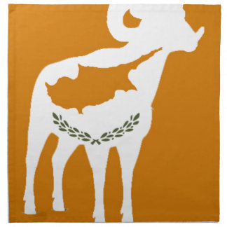CYPRUS NATIONAL RAM NAPKIN