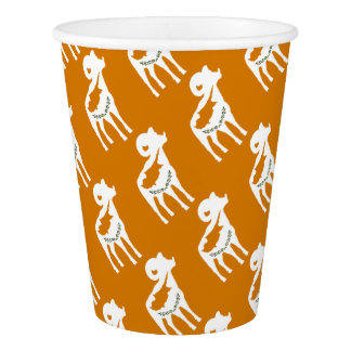 CYPRUS NATIONAL RAM PAPER CUP