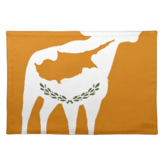 CYPRUS NATIONAL RAM PLACEMAT