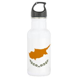 Cyprus National World Flag 532 Ml Water Bottle