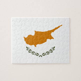 Cyprus National World Flag Jigsaw Puzzle