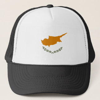 Cyprus National World Flag Trucker Hat