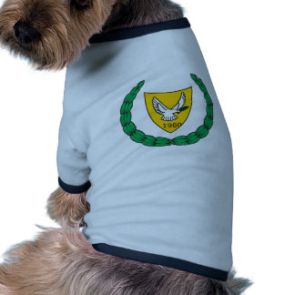 Cyprus Official Coat Of Arms Heraldry Symbol Dog Clothes