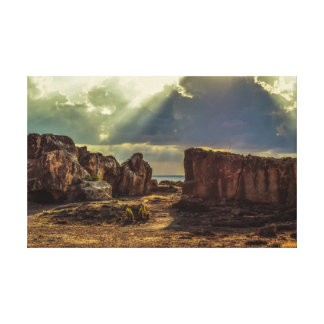 Cyprus ,tombs of the kings canvas print