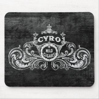 Cyro Mild Cigars Vintage Tobacco Label Mouse Pad
