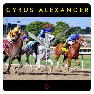 Cyrus Alexander, Mr.Jordan & Res Judicata Wall Clocks