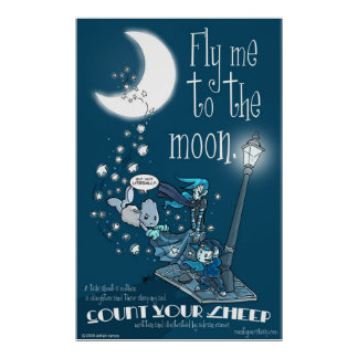 CYS-Fly Me To The Moon Poster