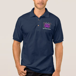 Cystic Fibrosis: Fight for a Cure! Polo Shirt