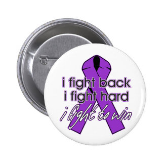 Cystic Fibrosis I Fight Back 2 Inch Round Button