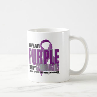 Cystic Fibrosis:Purple for Granddaughter Coffee Mug