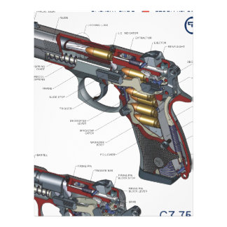 CZ 75 Compact Personalized Letterhead