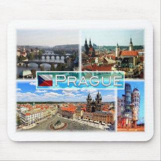 CZ Czech Republic - Prague - Prag - Praha - Mouse Pad