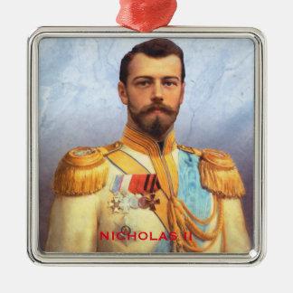 Czar Nicholas II Christmas Ornament