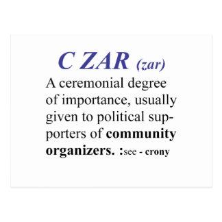 CZAR POSTCARD