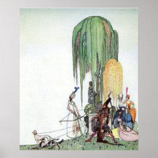 Czarina's Archery by Kay Nielsen Poster