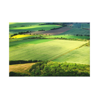 Czech Central Mountains Canvas Print