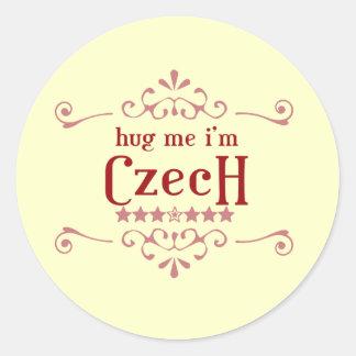 Czech Classic Round Sticker