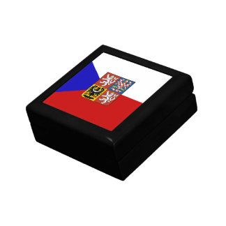 Czech flag gift box