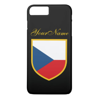 Czech Flag iPhone 7 Plus Case