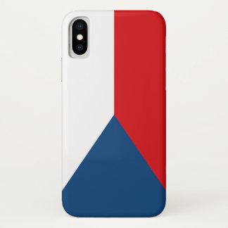 Czech Flag iPhone X Case