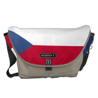 Czech Flag Messenger Bag