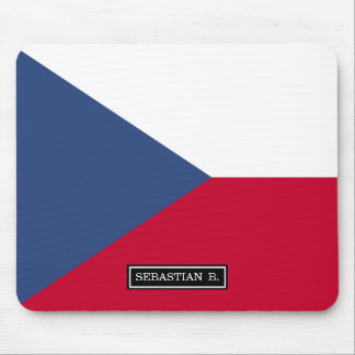 Czech Flag Mouse Pad