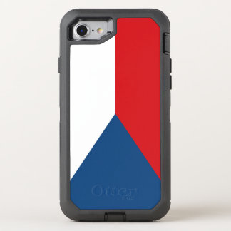 Czech Flag OtterBox Defender iPhone 8/7 Case
