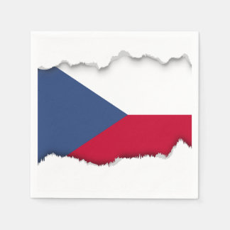Czech Flag Paper Napkins