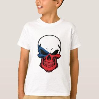 Czech Flag Skull T-Shirt