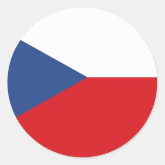 Czech flag stickers