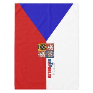 Czech flag tablecloth