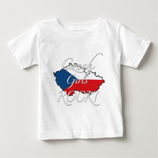 Czech Girls Rock! Baby T-Shirt