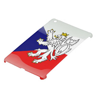 Czech glossy flag cover for the iPad mini