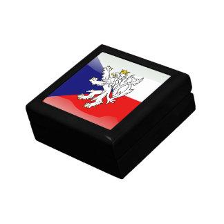 Czech glossy flag gift box