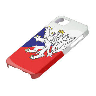 Czech glossy flag iPhone 5 cover