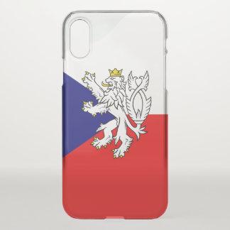 Czech glossy flag iPhone x case