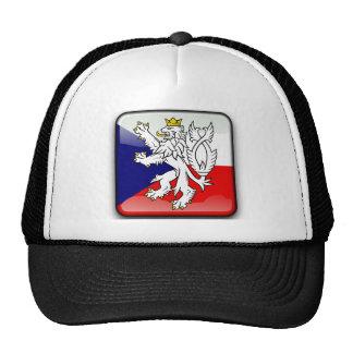 Czech glossy flag trucker hat